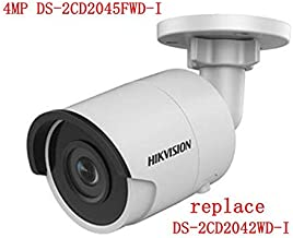 Hikvision Camera DS-2CD2045FWD-I 4mm 4MP Ultra-Low Light Network Bullet Camera POE Night Version IP67 H.265 ONVIF English Version