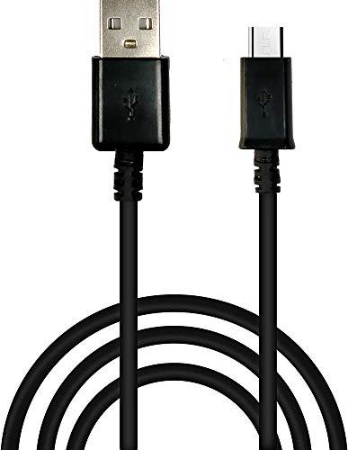Cable USB – Micro USB EVM  FastCharge para carga rápida (soporta la mayoría de dispositivos con puerto Micro USB incluidos tabletas, lectores electrónicos, smartphones y más) (1 unidad).