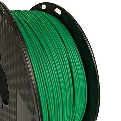 CC3D PLA MAX Green PLA Filament 1.75mm 3D Printer Filament 1KG 2.2LBS Spool 3D Printing Material Strength Than PLA PRO (PLA+) Normal PLA Plus Filament