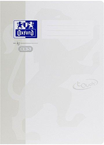 Oxford by ELBA 400103410 Schnellhefter aus festem Karton mit Soft Touch-Oberfläche für Format DIN A4 in der Farbe Weiß