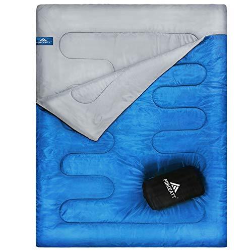 Forceatt Deckenschlafsack für bis zu zwei Personen