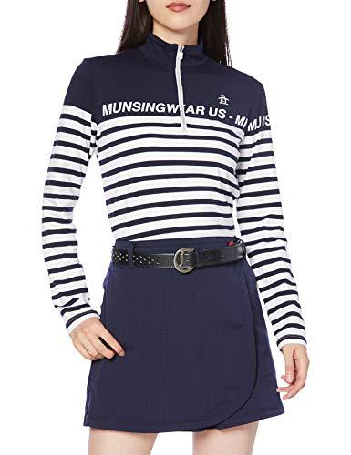 [マンシングウェア] 【20年秋冬モデル】ポロシャツ MGWQJB06 レディース NV00(ネイビー) 日本 M (日本サイズM相当)