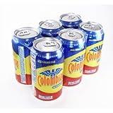 La Nuestra Colombiana - Kola Flavored Soda 12 OZ can (Pack of 12)