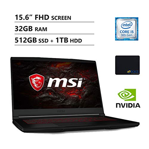 Compare MSI GF63 vs other laptops