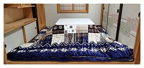 WNN-URG Tavolo di Riscaldamento Giapponese Casa Giapponese Tatami Tabella Inverno Indoor Legging Sleeping Riscaldamento Tavolo Riscaldamento Set (Dimensioni: 75 * 75 cm) URG