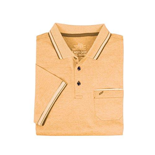 Herren-Poloshirt, Daniel orange, Gr. XL - (75010 181901 150 GR. XL)