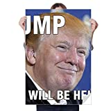 DIYthinker Ridiculous American Great President Image Sticker Decoration Poster Playbill Wallpaper Window Decal