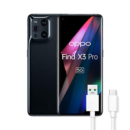 OPPO Find X3 Pro Smartphone 5G, Qualcomm 888, Display...