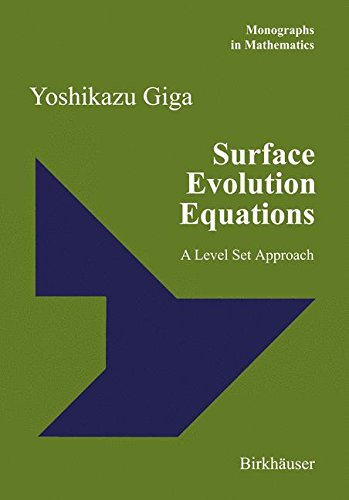 Surface Evolution Equations: A Level Set Approach (Monographs in Mathematics)