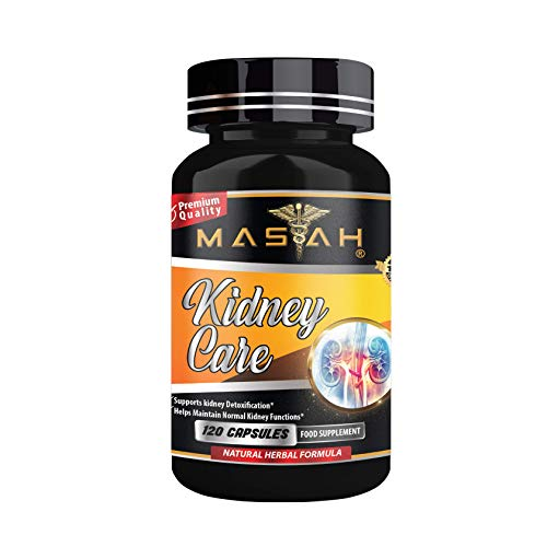 MASIAH Kidney Care - 120 Capsules - Kidney Cleanse - Detox and Support for Urinary Tract, Bladder and Kidneys – Premium Quality