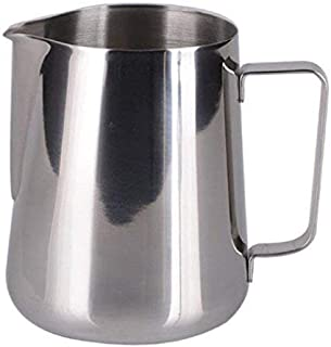 AYURVEDACOPPER Brand Stainless Steel Milk Frothing Jug || 600 ML || Latte Maker || Frothing Pitcher for Coffee