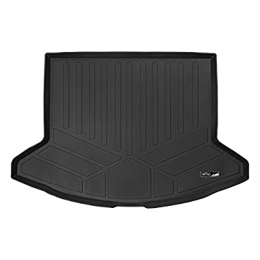 SMARTLINER All Weather Cargo Liner Floor Mat Black for 2017-2018 Mazda CX-5