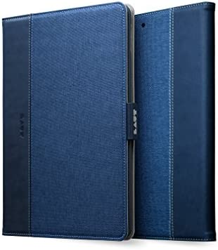 LAUT PROFOLIO for iPad 2017 2018 9 7 inch Faux Leather Fabric Suedette Lining Blue product image