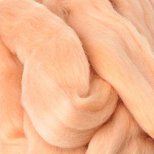 Märchenwolle 50g Naturprodukt Tiere Hautfarbe
