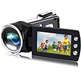 Video Camera Camcorder for Kids Full HD 1080P 12MP YouTube Video Camera 2.8 Inch 270 Degrees Rotatable Screen Digital Video Recorder Vlogging Camera Camcorders for Teens Children Beginners