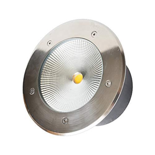 Spot Encastrable Exterieur,LED Imperméable De Plein Air Intégré Carré Lampe À Gazon Parc Cour Lumières De Paysage (Couleur : Red light-20w)
