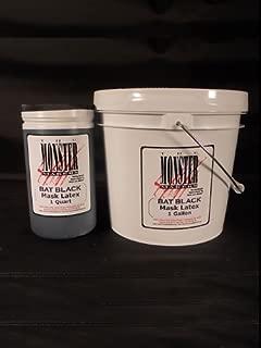 The Monster Makers RD-407 (Bat Black) Mask Making Latex (1 Gallon)