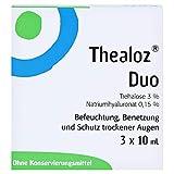 Thealoz Duo - Gotas oculares (3 x 10 ml)