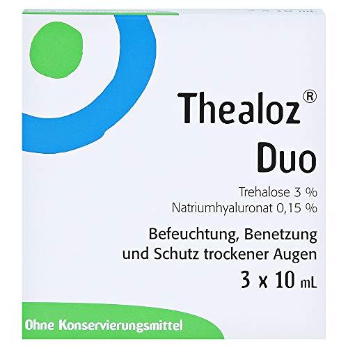 Thealoz Duo Augentropfen, 3x10 ml Lösung