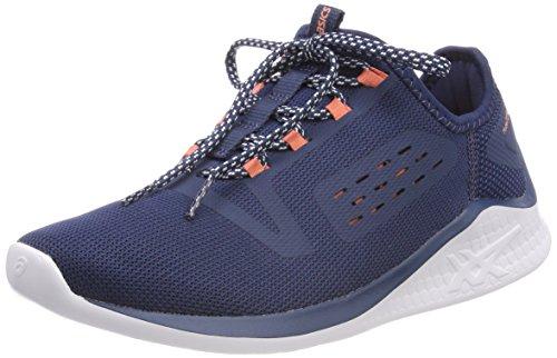Asics Fuzetora, Zapatillas de Running para Mujer, Azul (Dark Blue/Dark Blue/Begonia Pink...