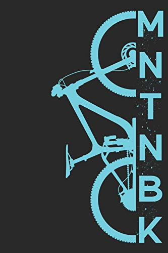 MNTNBK: Mountainbike MTB Notizbuch Zeichenbuch A5 | Geschenk für Mountainbiker Radsportler Fahrrad Fans Kinder Jugendliche Frauen Männer zum ... | 120 blanko Seiten mit angedeutetem Rand