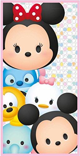 Disney Tsum Tsum Family - Toalla de playa (70 x 140 cm), diseño de familia Tsum