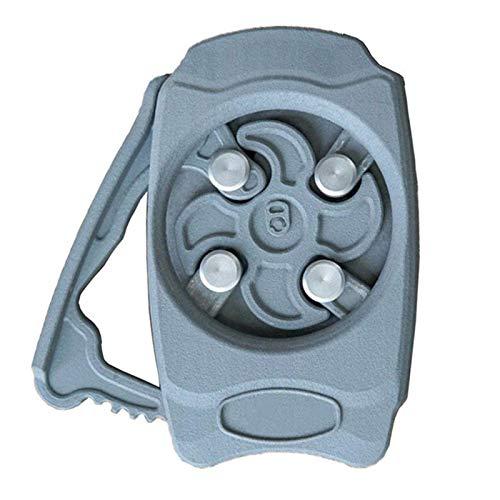 XYXZ Ouvre-Boîte Électrique One Touch Ouvre-Bocal Automatique Ouvre-Bouteille Ouvre-Bière Go Swing Topless Ouvre-Boîte Cuisine Gadget Bleu