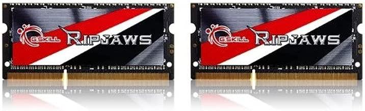 G.SKILL 16GB (2 x 8G) Ripjaws Series DDR3 PC3-14900 CL11 SO-DIMM Laptop Memory F3-1866C11D-16GRSL