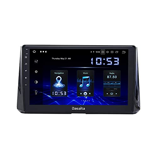 Lettore multimediale per auto 9'Android 10.0 Autoradio Bluetooth per Toyota Corolla dal 2019 al 2020 Carplay Android Auto Head Unit Single Din Wifi USB FM/AM 4G RAM 64G ROM Navigazione GPS HD 1280