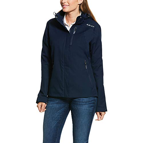ARIAT Frauen Coastal H2O Jacke 10030486 - Navy