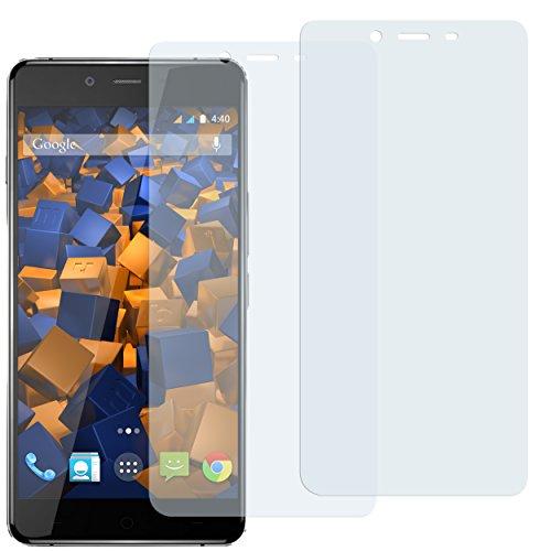 mumbi Schutzfolie kompatibel mit OnePlus X Folie klar, Displayschutzfolie (2X)