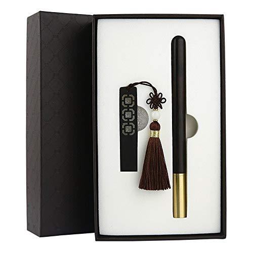 Unità flash USB 2.0 da 16 GB con nodo e segnalibro cinesi, confezione regalo retrò Memory Stick per viaggiatori dati digitali Chiavette USB per archiviazione dati ( Color : 16G with Wooden Pen )
