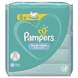 Pampers Feuchte Tücher Fresh Clean, 5er Pack (1 x 5 Stück)