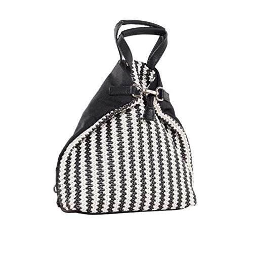 Jost Redi X-Change (3in1) Bag XS Borsa a zainetto nero/bianco