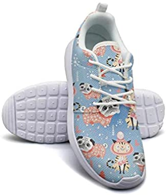 Pug Dog Paw Womans Flat Bottom Casual Shoes Original Sneakers