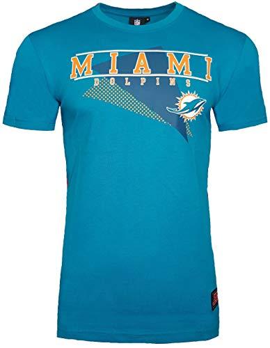 Majestic - Maglietta NFL dei Miami Dolphins, Uomo, Green, XL