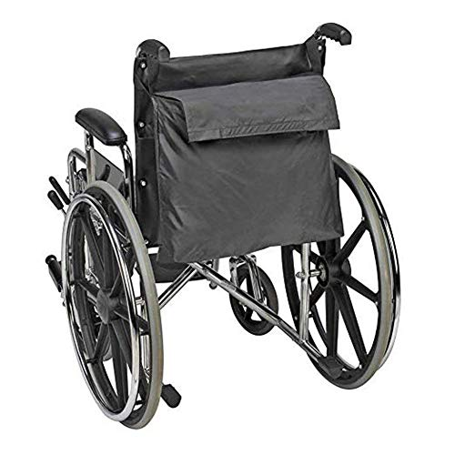 Affordable Lightweight and Large Expansion Design for Wheelchair Backpack Bag, Tote Bag for Storing Personal Accessories and Basic Items, Walker Storage Bag for Wheelchair Travel