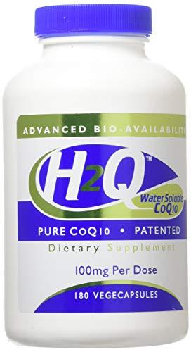 H2Q CoQ-10 (8x Absorption) 100 mg (non-GMO) (180 Vegicaps) - Health Thru Nutrition
