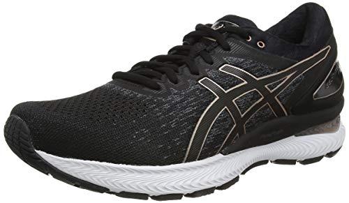 ASICS Gel-Nimbus 22 Knit, Road Running Shoe Femme, Noir, 39