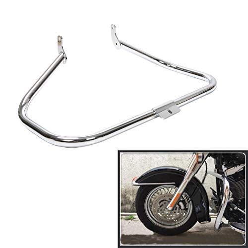 Chrome Engine Guard Highway Crash Bar For Harley Heritage Softail Fat Boy Springer FLST2000 2001 2002 2003 2004 2005 2006 2007 2008 2009 2010 2011 2012 2013 2014 2015 2016 2017