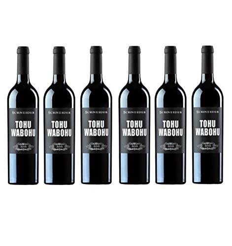 2016er Tohuwabohu Weingute Markus Schneider Deutschland aus der Pfalz Rotwein (6 Flaschen)
