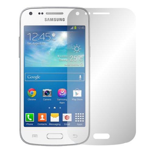 Slabo 2 x Protector de Pantalla para Samsung Galaxy Core Plus G3500 lámina Protectora de Pantalla Ultra Transparente Invisible