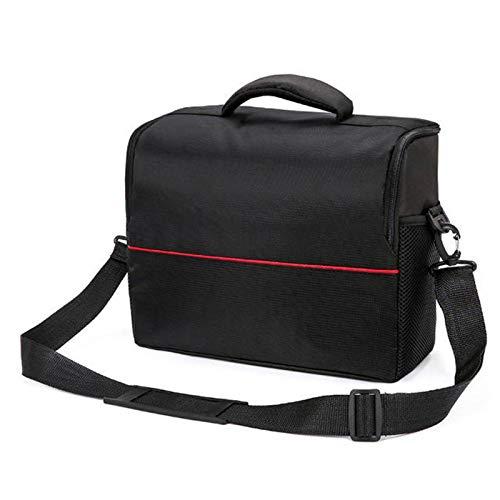 Kamera TascheTragbare Universal-Projektortasche Aufbewahrungstasche Etui Abnehmbarer GurtLaptop Messenger & Umhängetaschen (Size:L; Color:Black)
