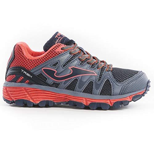 Joma Adventure Shoes Junior J_TREKS 912 - Zapatillas de Deporte, Color Gris y Rosa - J_TREKS_912_33, 33, Grigio-Rosa