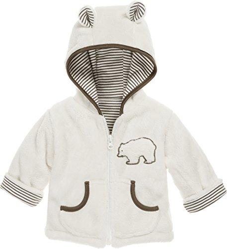 Schnizler Schnizler Kinder-Jacke aus Fleece, atmungsaktives und hochwertiges Jäckchen mit Reißverschluss, mit Bär-Stickung