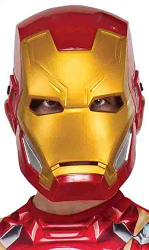 Mascara Iron Man Avengers, Multicolor, (Rubie'S 300148