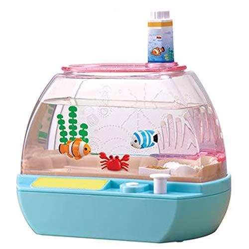 LYY Spaß Interaktiv Mädchenspielzeug, Happy Aquarium, Pet Electronic Fish, Kinderspielzeug, Mädchen Spielhaus Spaß Spielzeug (ohne Batterie) Die Beste Wahl für Kinder