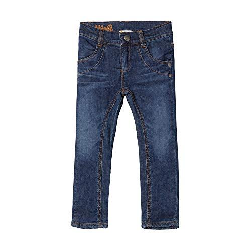 Steiff Baby - Mädchen Jeans , Blau (ESTATE BLUE 6016) , 80 (Herstellergröße:80)