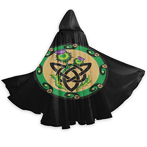 Celtic Ritual Norse Nordic Viking Pagan Wicca Wiccan Halloween Wizard Witch Hooded Robe Cloak Christmas Hoodies Cape Cosplay for Adult Men Women Party Favors Supplies Dresses Clothes Gifts Costume
