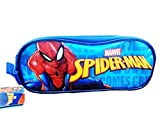 Spiderman Estuche Portatodo Doble, Unisex Adulto, Multicolor, Talla Única